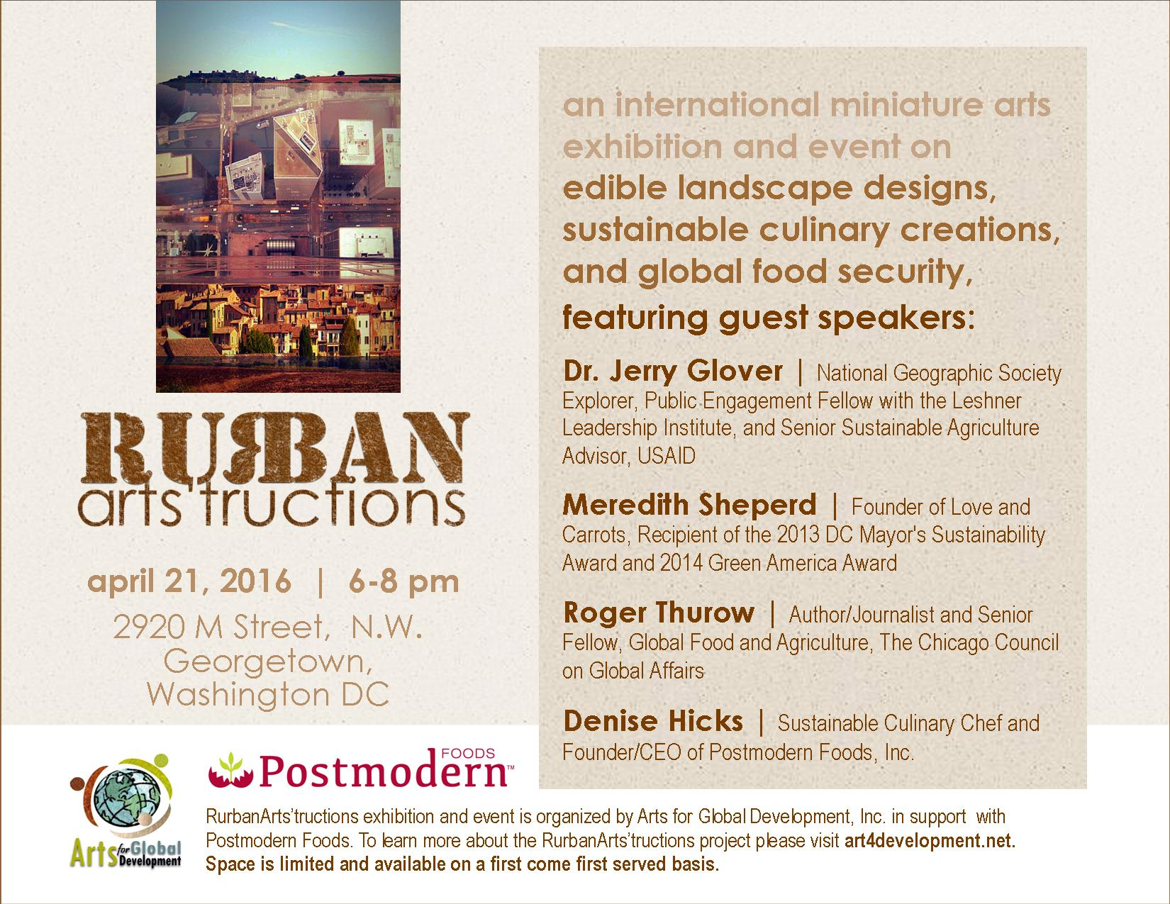 RurbanArts April21Event Invite